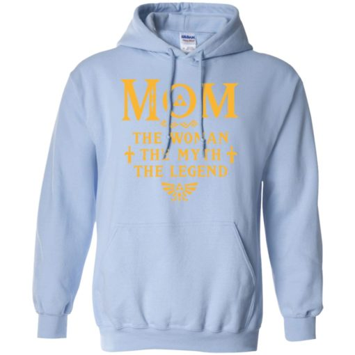 Mom the woman the myth the legend gaming mom cute gift hoodie