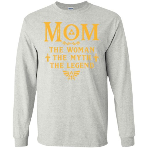 Mom the woman the myth the legend gaming mom cute gift long sleeve