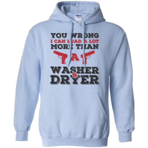 I can load more than a washer dryer hoodie
