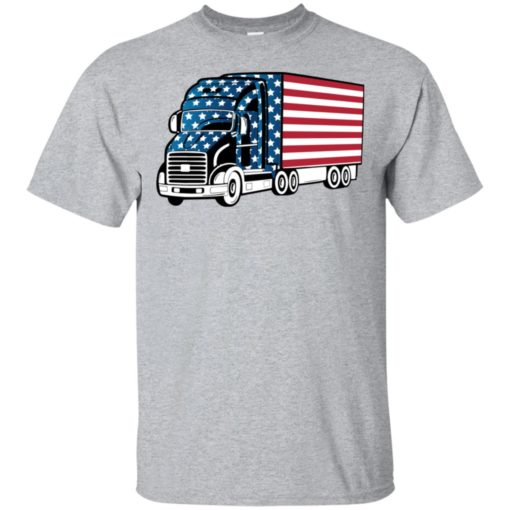 American trucker gift perfect gift for a truck driver t-shirt