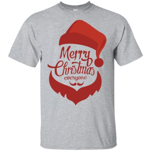 Dabbing santa christmas sweater merry christmas everyone christmas pregnancy shirts t-shirt