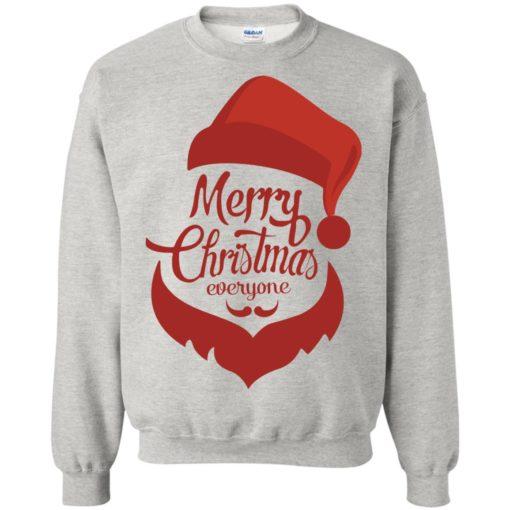Dabbing santa christmas sweater merry christmas everyone christmas pregnancy shirts sweatshirt
