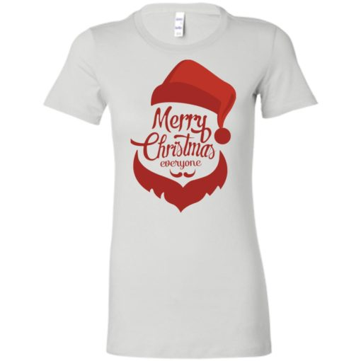 Dabbing santa christmas sweater merry christmas everyone christmas pregnancy shirts women tee