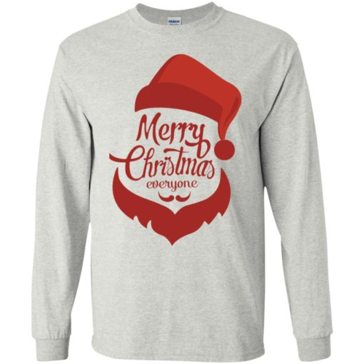 Dabbing santa christmas sweater merry christmas everyone christmas pregnancy shirts long sleeve