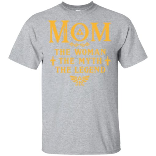 Mom the woman the myth the legend gaming mom cute gift t-shirt