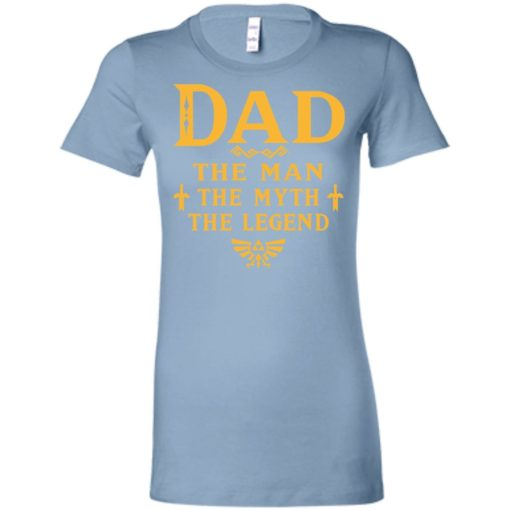 Dad the man myth the legend gaming dad best gift for gamers women tee