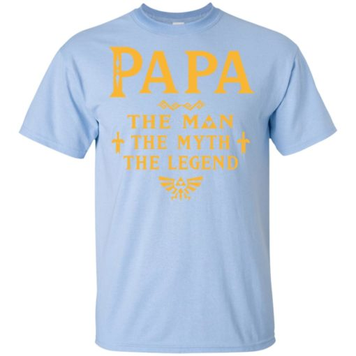 Papa the man myth the legend gift for gaming papa grandpa daddy t-shirt
