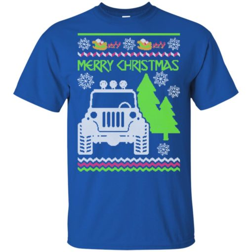 Ugly jeep sweater christmas gift for jeep lover owner addicted t-shirt