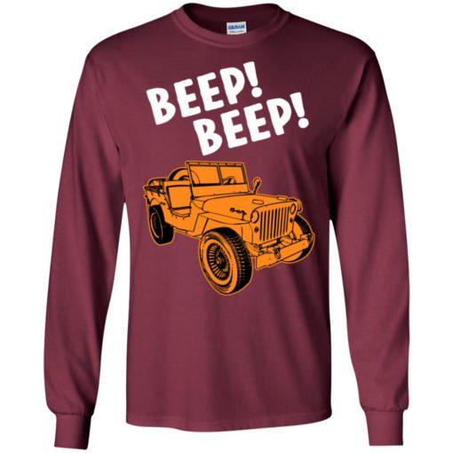 Jeep beep beep long sleeve