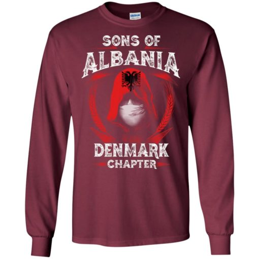 Son of albania – denmark chapter – albanian roots long sleeve