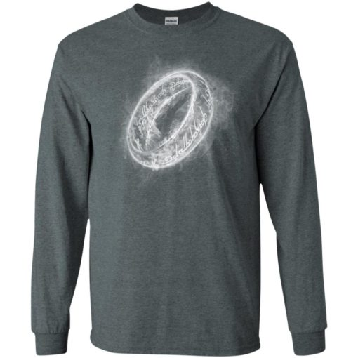 Lord rings one of ring cool graphic smoky ring the best gift for fans long sleeve