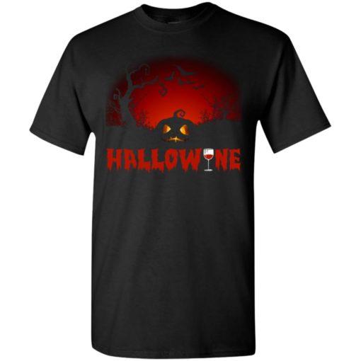 Hallowine t-shirt funny scary cool halloween costume t-shirt