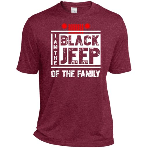 I'm the black jeep of the family sport t-shirt