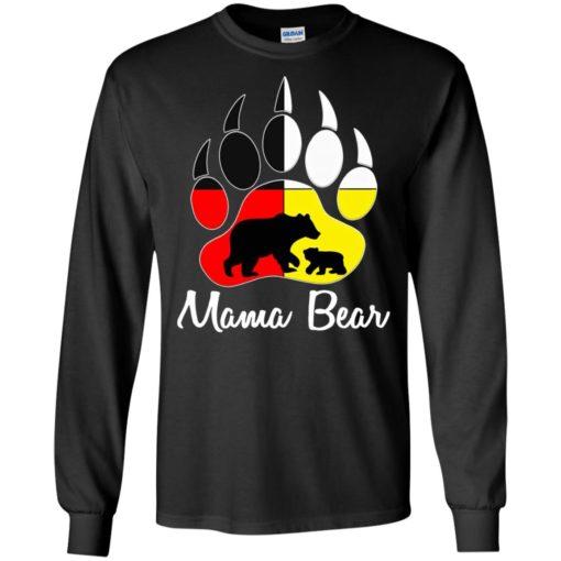 Mama bear paw long sleeve