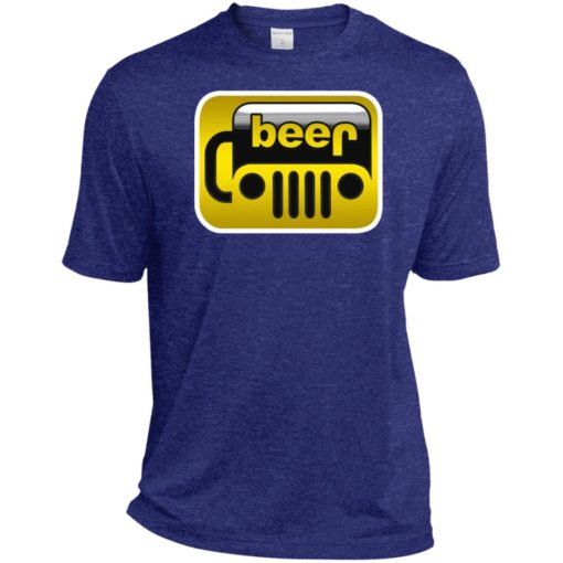 Beer jeep sport t-shirt