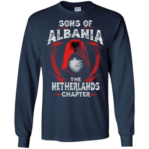 Son of albania – netherlands chapter – albanian roots long sleeve