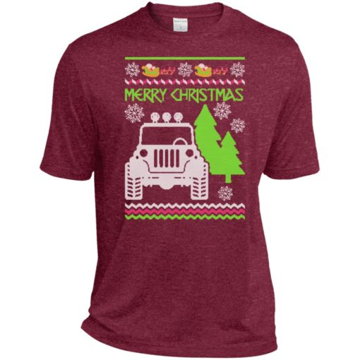 Ugly jeep sweater christmas gift for jeep lover owner addicted sport t-shirt