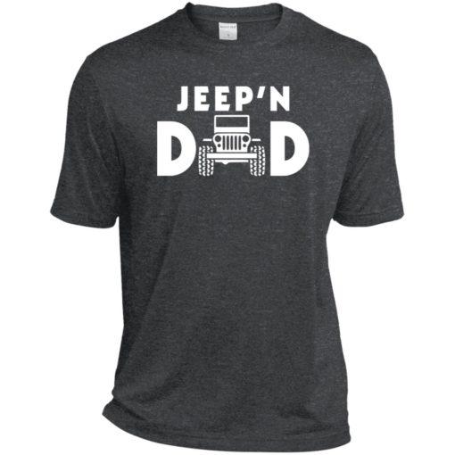 Jeepin dad sport t-shirt