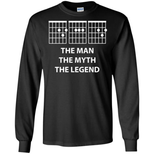 The man the myth the legend chords long sleeve