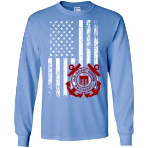 American flag coast guard long sleeve