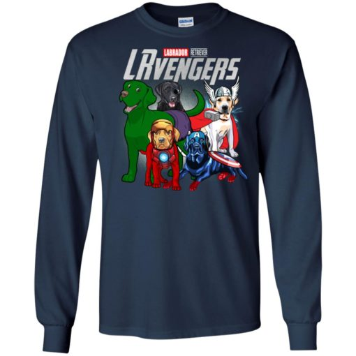 Labrador retriever lrvengers marvel avengers endgame long sleeve