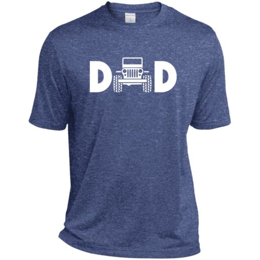 Jeep dad jeep father jeeps daddy sport t-shirt