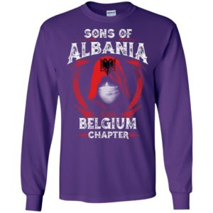Son of albania – belgium chapter – albanian roots long sleeve
