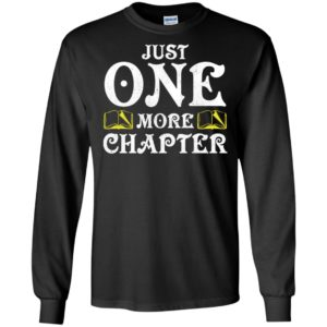 Just one more chapter long sleeve