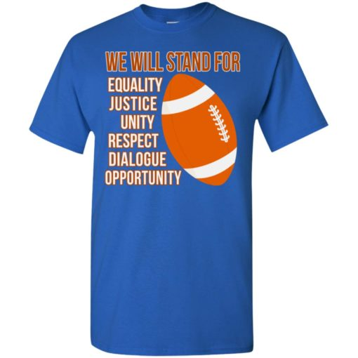 Unite we stand together gift long sleeve equality justice t-shirt