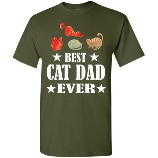 Cat lover gift gift best cat dad ever t-shirt