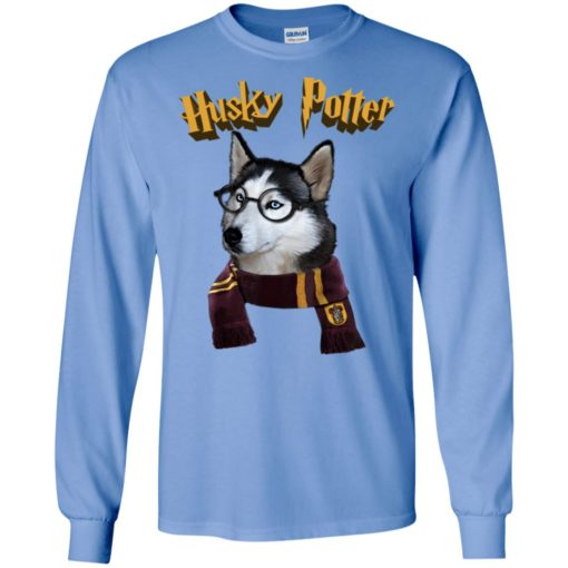 Husky potter cute dog long sleeve