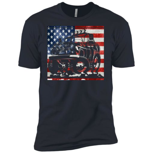 American flag and jeep lover premium t-shirt