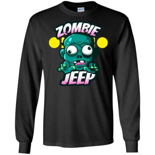 Zombie jeep long sleeve