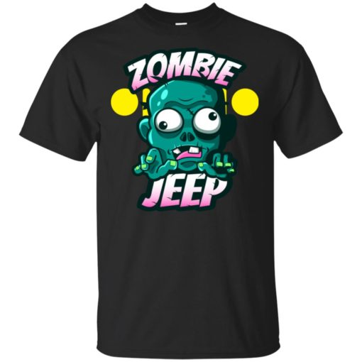 Zombie jeep t-shirt