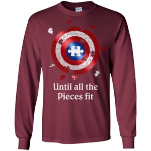 Until all pieces fit autism awareness target long sleeve