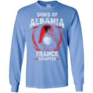 Son of albania – france chapter – albanian roots long sleeve