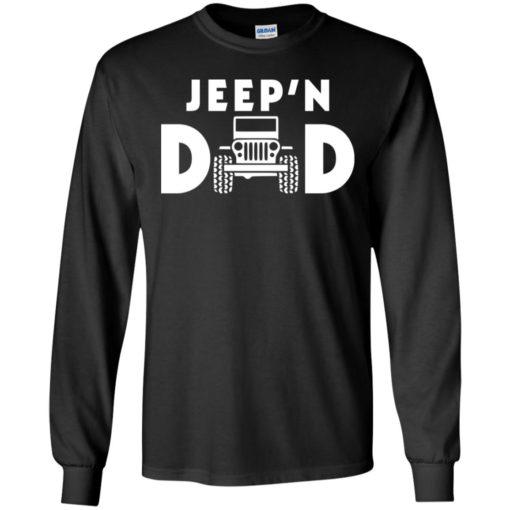 Jeepin dad long sleeve