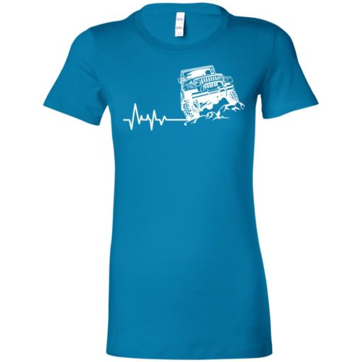 Unlimited heartbeat love jeep shirt jeep lover driver owner addicted women tee