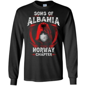 Son of albania – norway chapter – albanian roots long sleeve