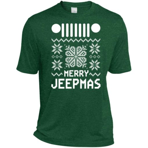 Merry jeepmas ugly christmas sport t-shirt