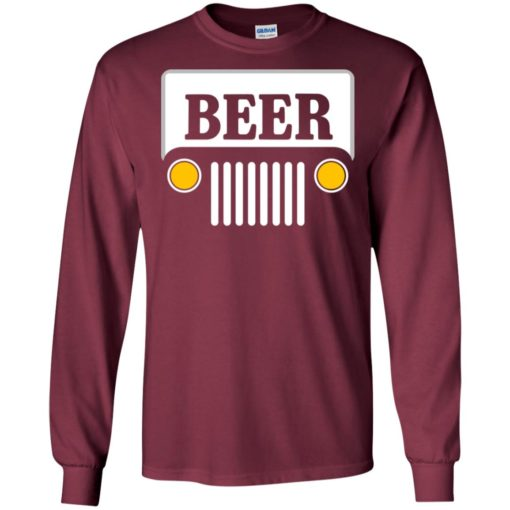 Beer jeep road trip long sleeve