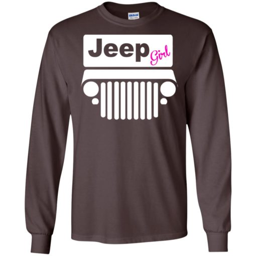 Jeep girl long sleeve