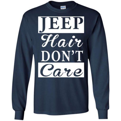 Jeep hair don't care long sleeve
