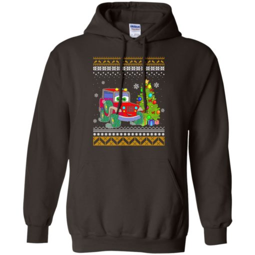 Merry jeepmas and happy new year jeep lover hoodie