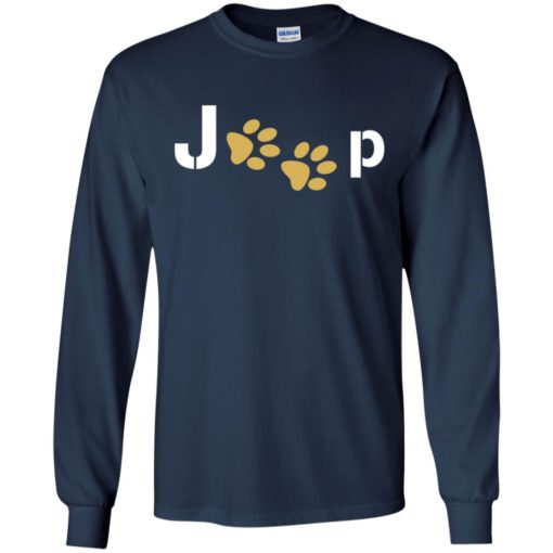 Jeep with dog paw long sleeve