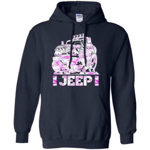 Jeep girl pink hoodie