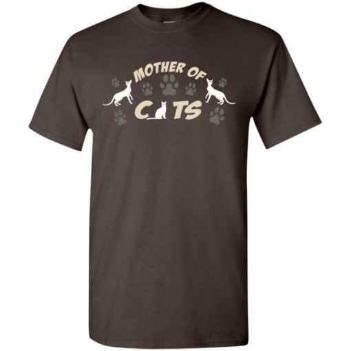 Mom cat lovers gift mother of cats t-shirt