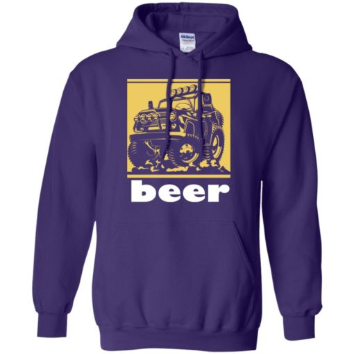 Funny beer alcohol jeep 4×4 drinking lover hoodie