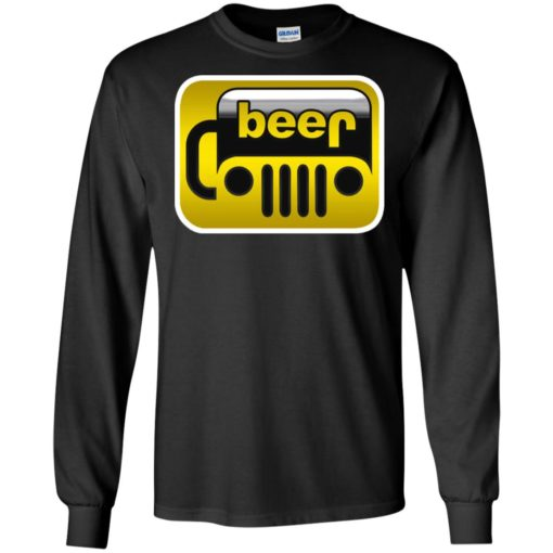 Beer jeep long sleeve