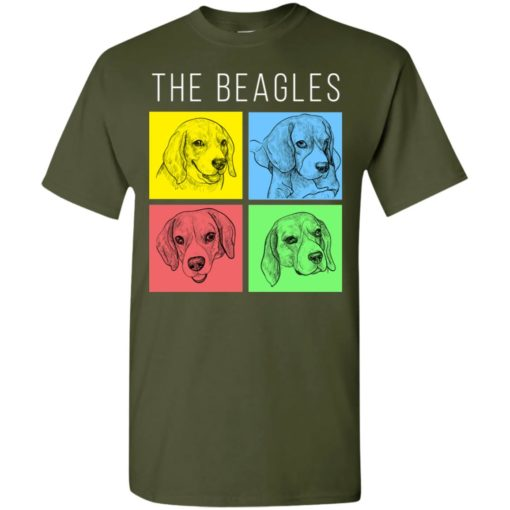 Dog lovers gift the beagles style t-shirt